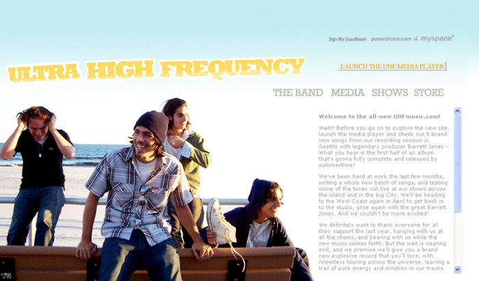 Ultra High Frequency – Sweet Lady Designs